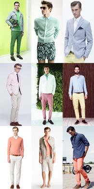 Primavara aceasta, barbatii adevarati poarta culori nude si pastel