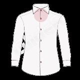 camasa pe comanda - butoniere in contrast (stiching color shirt)