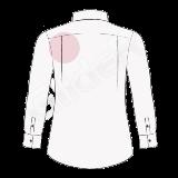camasa pe comanda cu pliuri laterale (side pleats)