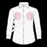 camasa pe comanda cu unul sau doua buzunare (chest pockets shirt)