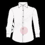 camasa pe comanda - fenta nasturi sport (sport buttons placket shirt)