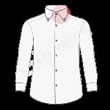 camasi pe comanda cu guler american (american button collar)