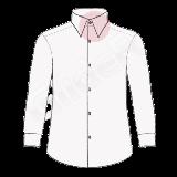 camasi pe comanda cu guler ascutit (London collar shirt)