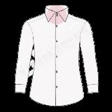 camasa pe comanda - guler cu doi nasturi (double buttons collar shirt)