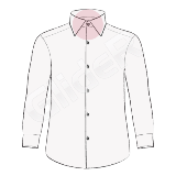 camasa pe comanda - guler cu un nasture (one button collar shirt)