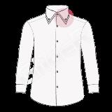 camasi pe comanda cu guler dublu (double collar shirt)