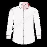 camasi pe comanda cu guler rotund (round collar shirt)