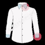camasa pe comanda - guler si mansete in contrast sau albe (collar/cuffs contrast shirt)