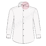 camasi pe comanda cu guler taiat (cutaway collar shirt)