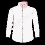 camasi pe comanda cu guler tunica (simple collar)