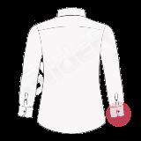 camasi pe comanda cu manseta colt taiat (diagonal shape cuff)